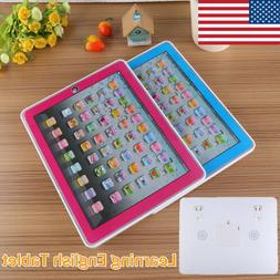 Tablet Pad Computer For 1-6 Year Kid Learning English Educat