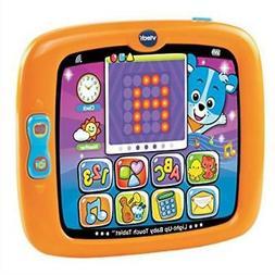 Tablet Baby Teach Touch Tablet Orange Toy Toddler Kids Fun P