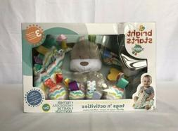 Bright Starts Taggies Baby Soft Toys Puppy Dog / Taggies Bla