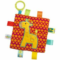 Mary Meyer Taggies Crinkle Me Giraffe Stroller/Crib Toy
