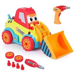 VATOS Take Apart Car Construction Toys for 3 -4 -5 Years Old