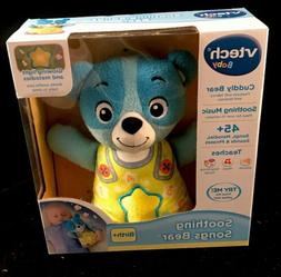 Teddy Bear Toys Doll Bedtime Blue VTech Baby Soothing Song S