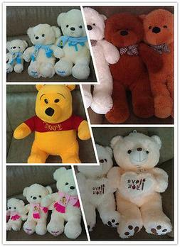 Teddy Bear Winnie the Pooh Soft Plush Toys Gifts for Kids Mu