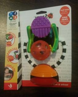 Sassy Teethe & Twirl Station Auction Cup Tray Toy Teaches ST