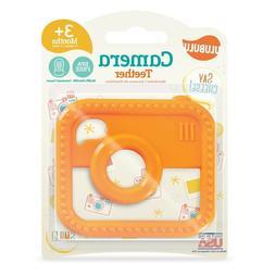 Ulubulu Camera Teether, Orange