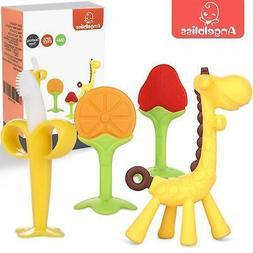 Teething Toys -ANGELBLISS Baby Teething Toys Set/Baby teethe