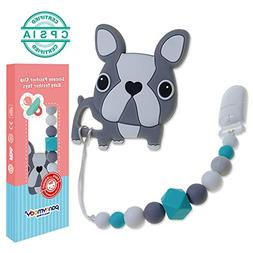 Baby Teething Toys, Panny & Mody BPA Free Silicone Teethers