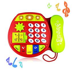 Telephone Toy for 3-12 Month Baby, Toy Phone Gift 1-3 Year O