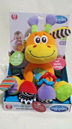 Playgro Textured On The Go Stem Toys Discovery Friend Giraff