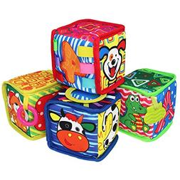 teytoy soft rattle blocks early