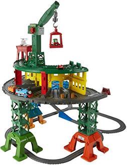 Thomas & Friends Super Station Playset Train Wooden Railway
