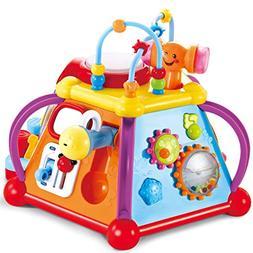 JOYIN Baby Toddler Activity Center Musical Activity Cube Pla