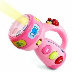 Toddler Toys Learning Color Flashlight Vtech Girls Pink Educ