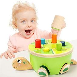 TOP BRIGHT Baby Toys Fine Motor Skills Educational Pounding