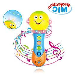 Toy for 6-12 Month Baby Toddler, Toy Microphone for 9-18 Mon
