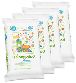 Babyganics Toy, Table & Highchair Wipes, Fragrance Free, 25