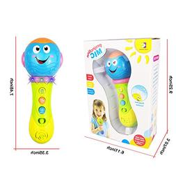 SUGOO Toy for 1 Year Old Girl Toy Microphone for 2-3 Year Ol