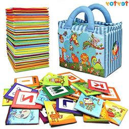 TEYTOY Baby Toys, 26pcs Baby's Non-Toxic Educational Soft In