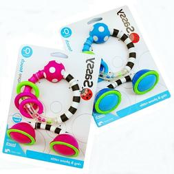 Sassy Toy Baby Kid Child ClanKing Rings Observe Rattle Phone