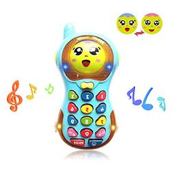 Toy Phone 12 Month Baby, Phone Toys for 1-2 Year Old Baby Gi