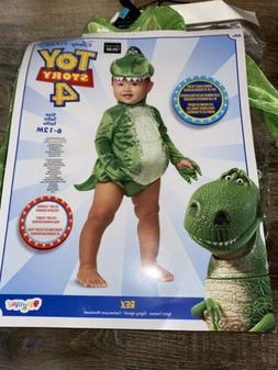 Toy Story-4 Rex ~ Halloween Infant Child Costume Disney Pixa