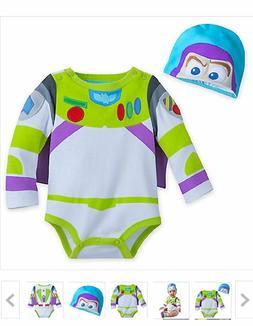 Disney Store Toy Story Buzz Lightyear Baby Boy Costume Bodys