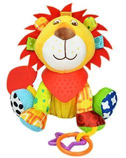 OASMU Baby Toys, Pram Toys, Colorful Lion Infant Stroller To