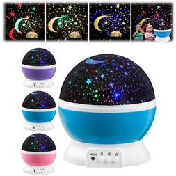 TOYS FOR 2-10 Year Old Kids LED Night Light Star Moon Conste