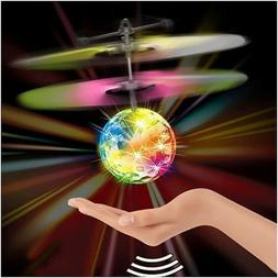 Toys for Boys 3 4 5 6 7 8 9 10 Year Old Flying Ball LED Flas