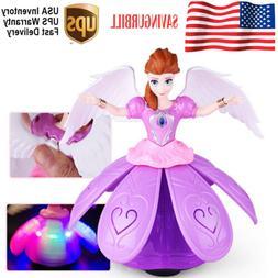 Toys for Girl Dance Princess Doll LED Light 3 4 5 6 7 8 Year