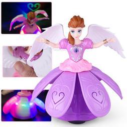 Toys for Girls Dancing Princess Doll LED Light 3 4 5 6 7 Yea