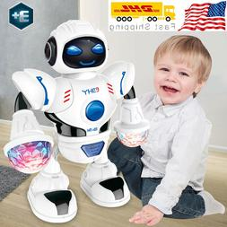 toys for kids boys walking musical robot