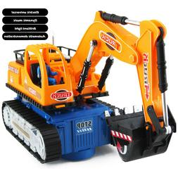 Toys for Kids LED Light Truck Excavator 3 4 5 6 7 8 +Years A