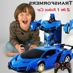 Toys for Kids Transformer RC Robot Car Remote Control 2 IN 1