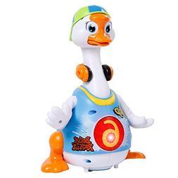 ANTAPRCIS Baby Toys, Super Fun Swing Dancing Hip-Hop Goose w