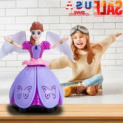 Toys Music Doll LED Pet Robot Toy Girl Dancing Princess Elec