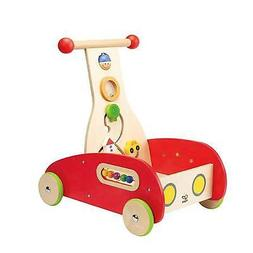 Hape Toys E0370 Toddler Baby Push and Pull Toy Wonder Walker