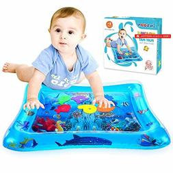 INSOON Tummy Time Water Mat Baby Toys Infant Early Developme
