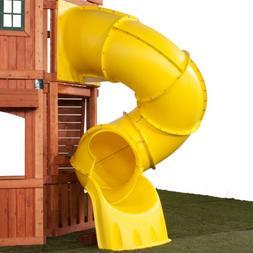 5 Ft Turbo Tube Slide, Yellow