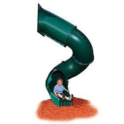 7 ft. Turbo Tube Slide for Kids Outdoor Play Set Climber, Sw