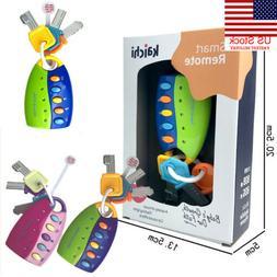 US Car Key Toy Remote Control Key Educational Toy Car Key fo