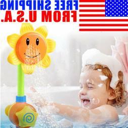 us baby children kids bath sunflower spray