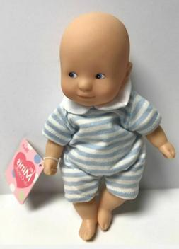 "Corolle Vintage Mini Baby Doll Toy 8"" Les Minis Boy Doll NEW"