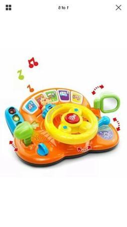 VTec BabyToy Learning Driving Steering Wheel,Play Light Soun
