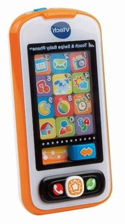 VTech Touch and Swipe Baby Phone , Orange