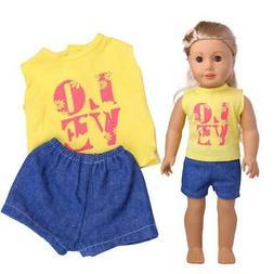 Wardrobe Clothes Dress For American Boy Doll Accessory
