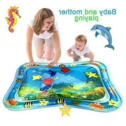 Water Play Mat for Infants Inflatable Toddlers Fun Tummy Tim