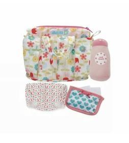 Manhattan Toy Wee Baby Stella Delightful Diaper Bag Soft Ba.