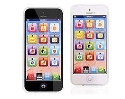 YOYOSTORE YPhone Toy Mobile Music Education Phone Shape Toy