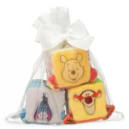 Disney Winnie the Pooh and Pals Soft Blocks for Baby - New i